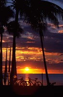 Sunset,  Fiji Fine Art Print