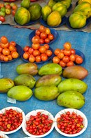 Nadi Produce Market, Nadi, Viti Levu, Fiji Fine Art Print