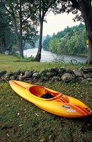 Kayak on Housatonic River, Litchfield Hills, Housatonic Meadows State Park, Connecticut Fine Art Print
