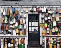 Fishing shack, Niantic, Connecticut Fine Art Print