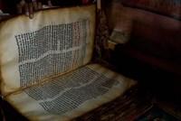Ethiopia, Blue Nile River Basin, Coptic scripture Fine Art Print