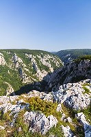 Gorge of Zadiel in the Slovak karst, National Park Slovak Karst, Slovakia Fine Art Print
