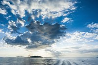 Dramatic clouds at sunset over the Mamanucas Islands, Fiji, South Pacific Fine Art Print
