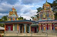 Sri Siva Subramaniya Hindu temple, Nadi, Viti Levu, Fiji Fine Art Print