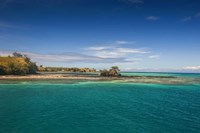 Turquoise waters of Blue Lagoon, Yasawa, Fiji, South Pacific Fine Art Print