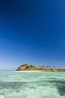 Turquoise waters of Blue Lagoon, Yasawa, Fiji Fine Art Print