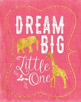 Dream Big - Pink Fine Art Print