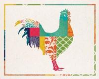 Boho Rooster Fine Art Print