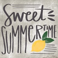 Sweet Summertime Framed Print