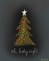 Oh Holy Night Tree Fine Art Print