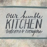 Humble Kitchen Fine Art Print