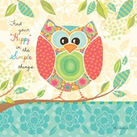 Unique Owl Framed Print
