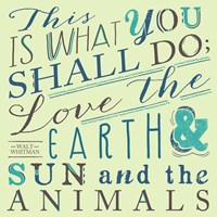 Walt Whitman Fine Art Print