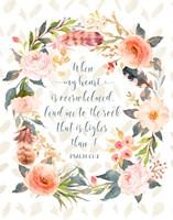 Psalm 61-2 Fine Art Print