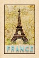 Travel France Framed Print