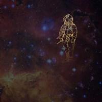 Universe Diver Fine Art Print
