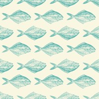 Fish Pattern Fine Art Print