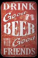 Good Beer Fine Art Print