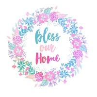 Bless Our Home -Pastel Fine Art Print