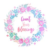 Count Your Blessing-Pastel Fine Art Print