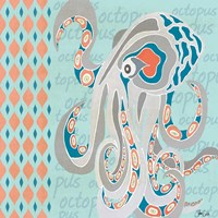 Nautical Octopus Fine Art Print