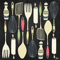 Kitchen Tools Fine Art Print
