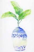 Blue and White Botanical Fine Art Print
