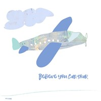Soar Airplane Fine Art Print