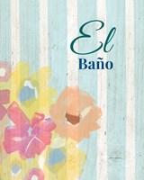 El Bano Fine Art Print