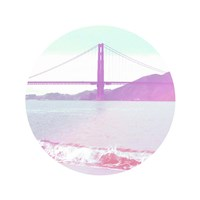 Pastel Bridge Fine Art Print
