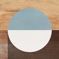 Mod Blue and White Fine Art Print