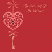 My Valentine Fine Art Print