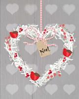 Noel Heart Fine Art Print