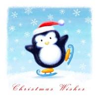 Christmas Wishes - Penguin Fine Art Print