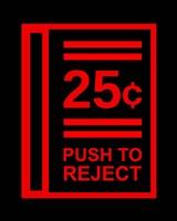 Push To Reject Fine Art Print
