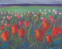 Tulip Bed Fine Art Print