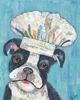 Chef Dog Fine Art Print