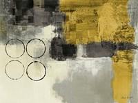 Golden Desert I Fine Art Print
