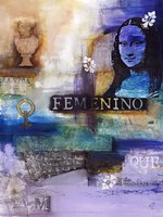 Femenino Fine Art Print