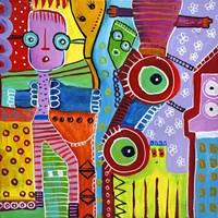 I Love My Colours IV Fine Art Print