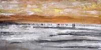 Beach II Panel Fine Art Print