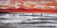 Beach IV Panel Fine Art Print