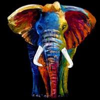 Great elephant Framed Print