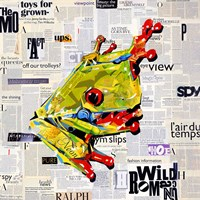 Ralph the Frog Fine Art Print