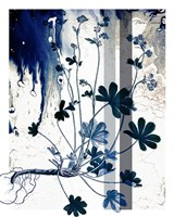 Blue Flower 2 Fine Art Print