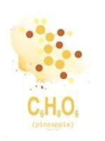 Molecule Pinapple Fine Art Print