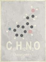 Molecule Happiennes-Medium Grey Fine Art Print