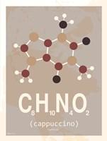 Molecule Cappuccino Fine Art Print