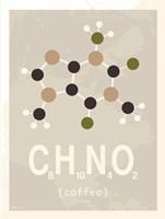Molecule Coffee with Sugar Fine Art Print