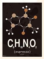 Molecule Espresso Fine Art Print